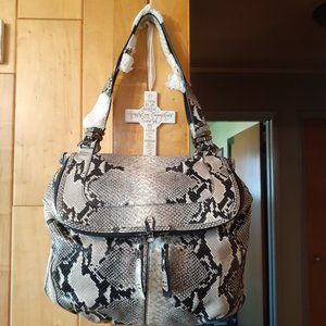 New orYany bag snake skin